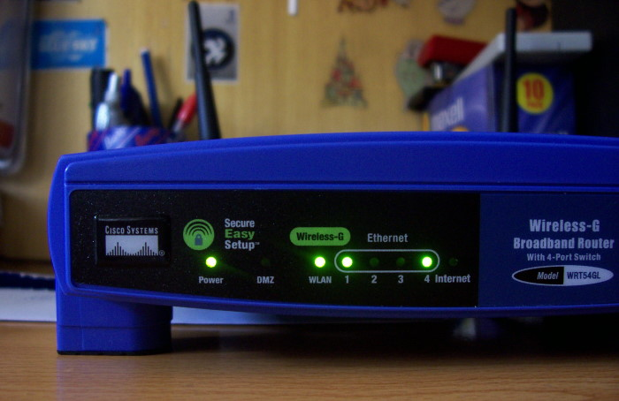 Router-Closeup