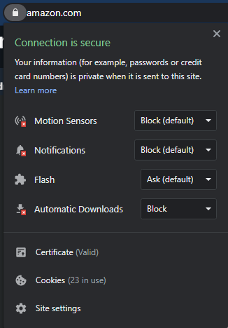 Amazon-Secure-Certificate