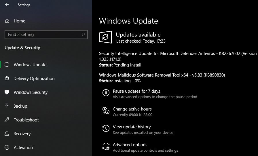Windows-Update-Windows-10