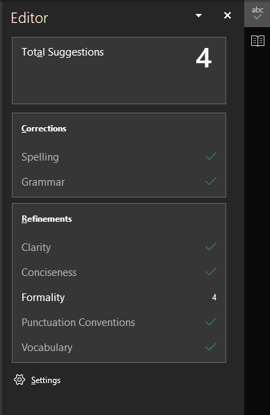 Word-Editor-Suggestions