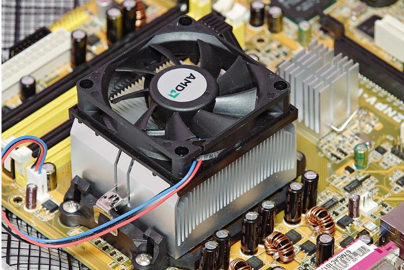 CPU Fan and heatsink