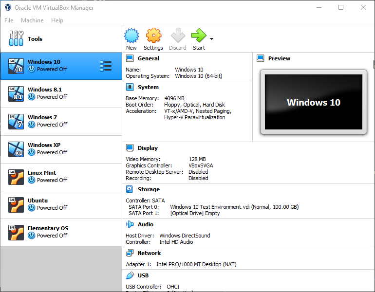 VirtualBox-VM-List