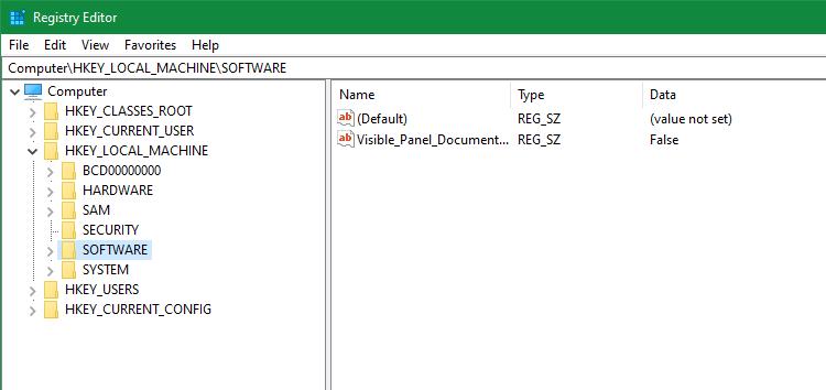 Windows-Registry-Editor