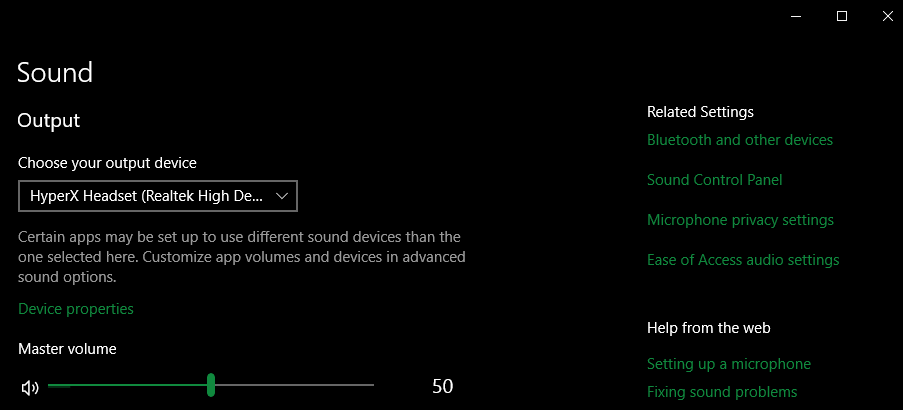 Windows-Open-Sound-Control-Panel