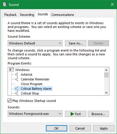 Windows-Sound-Control-Panel