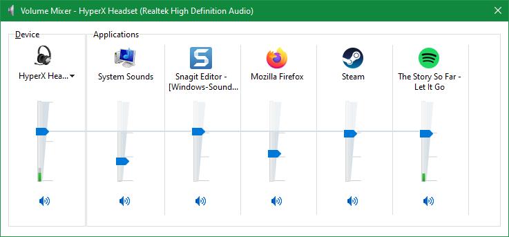 Windows-Volume-Mixer