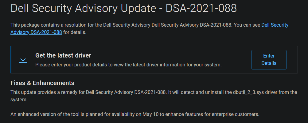 Dell-Security-Update