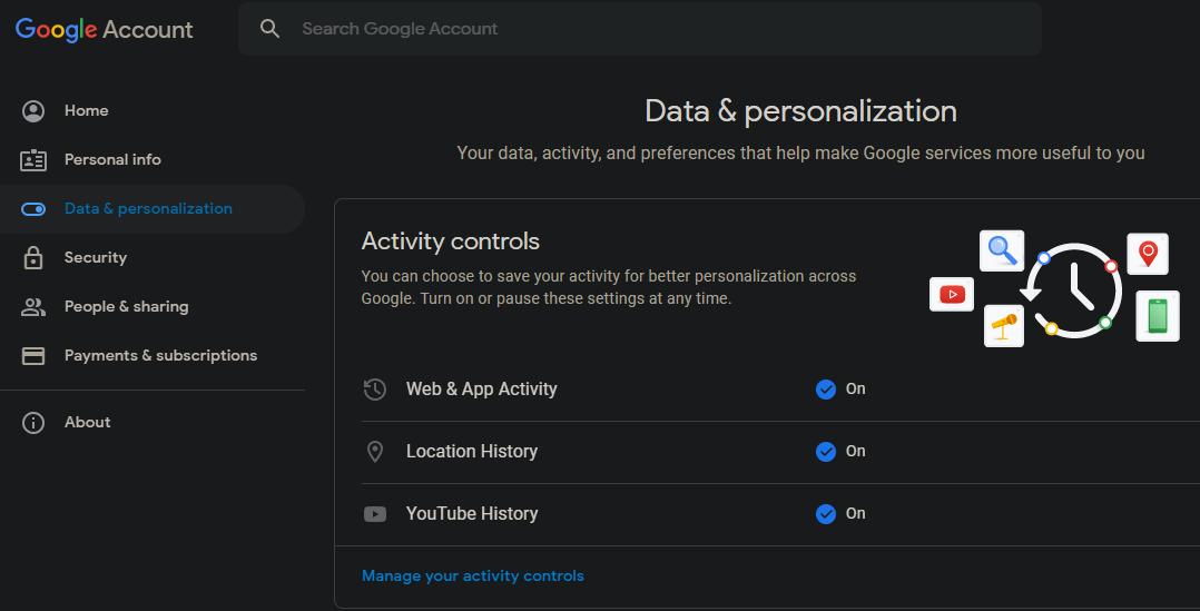 Google-Account-Controls