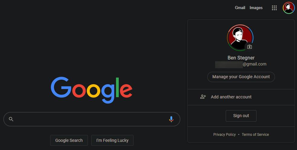 Manage-Google-Account