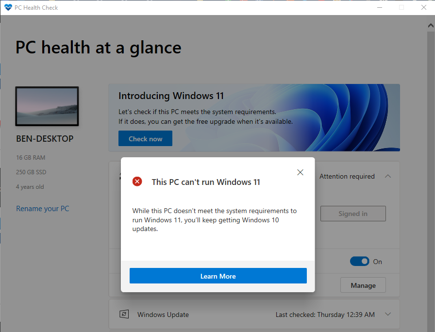 Windows-11-Not-Supported