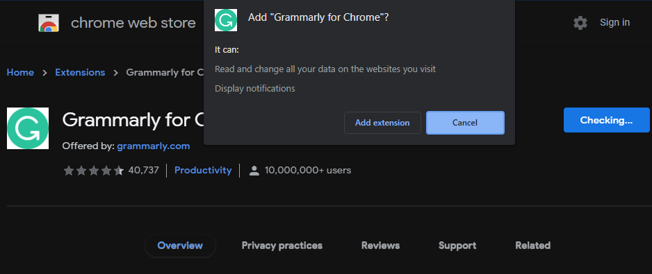 Chrome-Install-Extension-Permissions