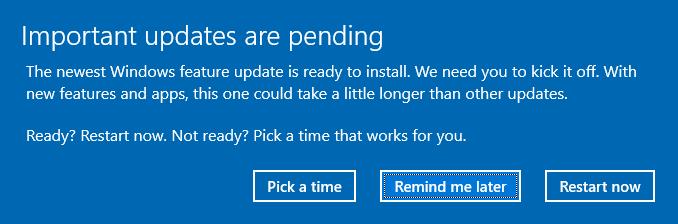 Install Windows 10 Prompt