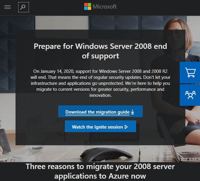 Windows Server 2008 Migrate Microsoft