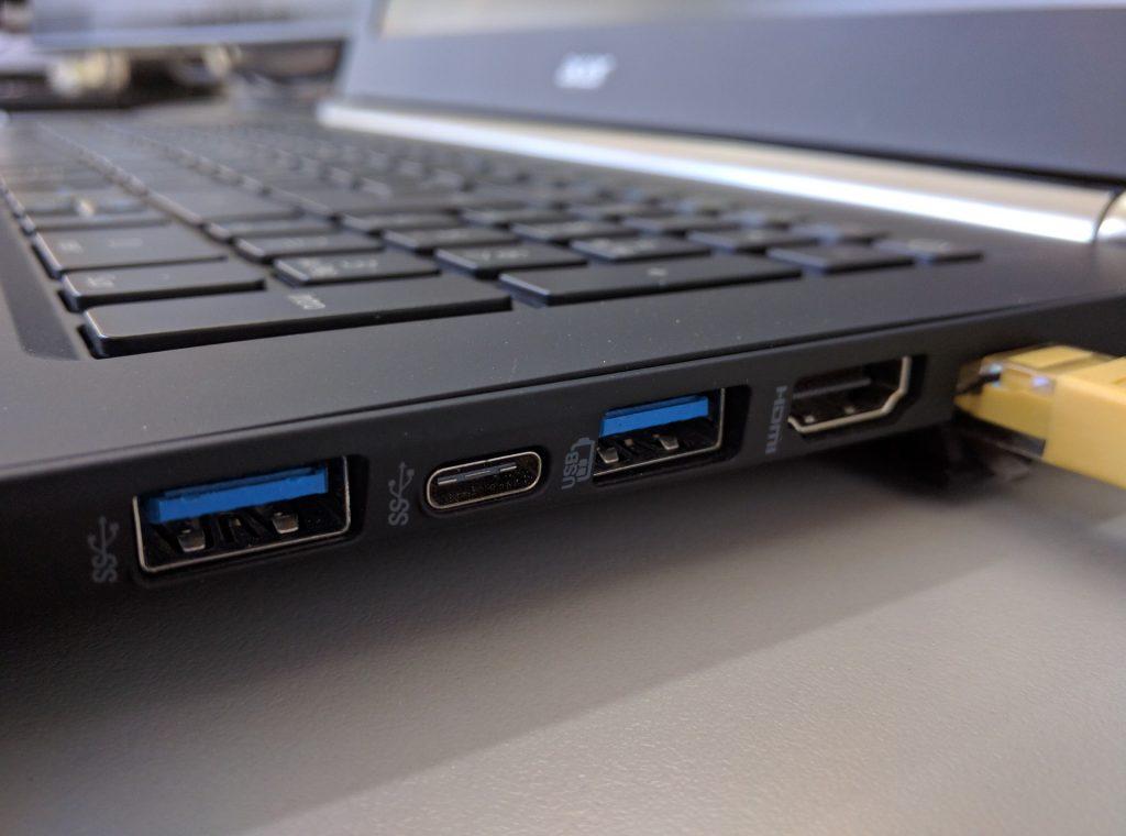 Laptop-Ports