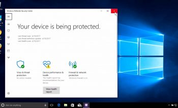 How to enable windows defender? Support for New York Businesses