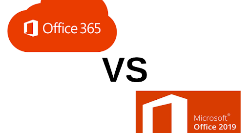 What is the difference between Office 365 and Office 2019?
