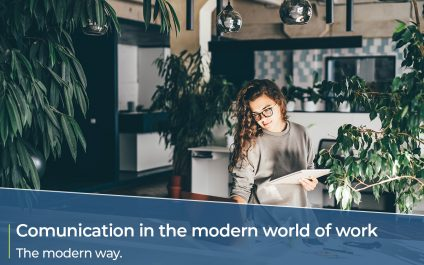 Communication in the modern world of work – the dated way