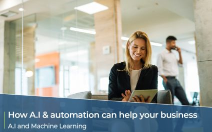 How A.I and Automation can help your small business