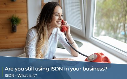 Are you still using ISDN? What is it?