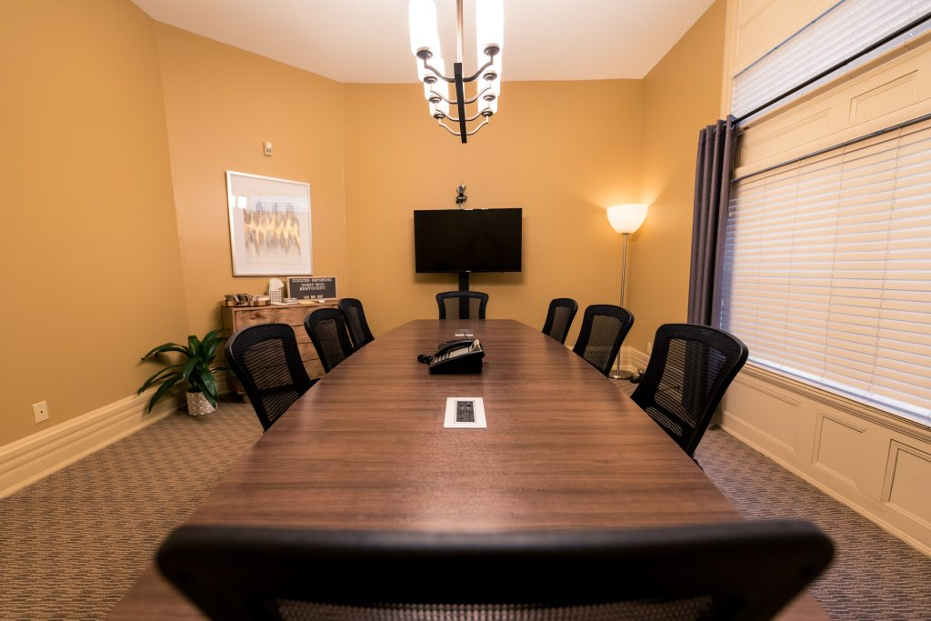 Louisville KY court reporters conference room