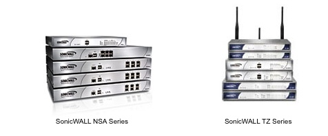 SonicWALL security appliances