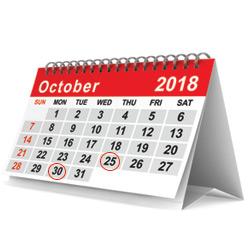 Calendar-October-image