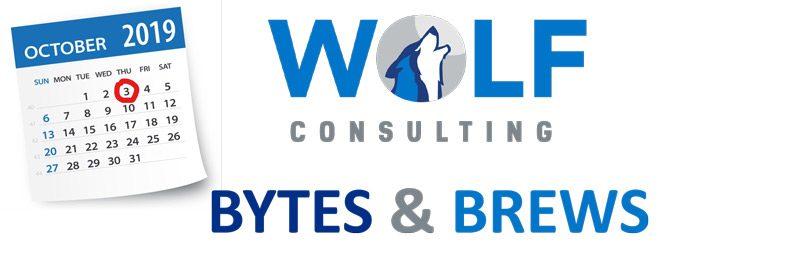 Bytes & Brews Briefing Flyer
