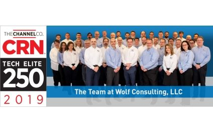 Wolf Consulting Named One of  2019 Tech Elite 250 Solution Providers by CRN