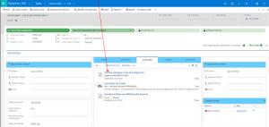 Microsoft Dynamics 365 Create Task Action