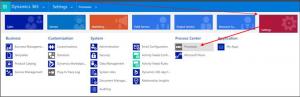 Microsoft Dynamics 365 Settings