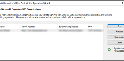 Resetting Outlook Integration for Microsoft Dynamics CRM
