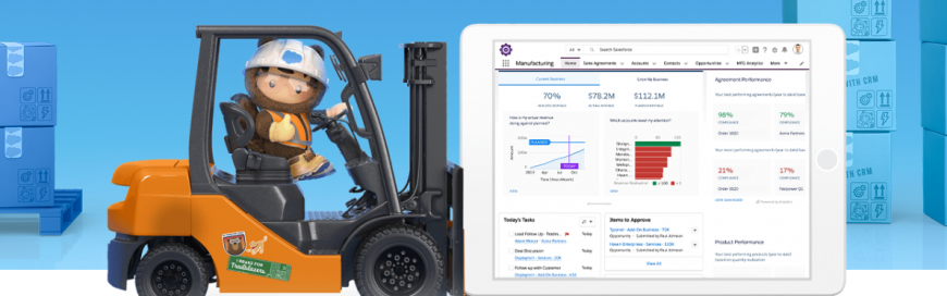 Salesforce and Manufacturing Cloud