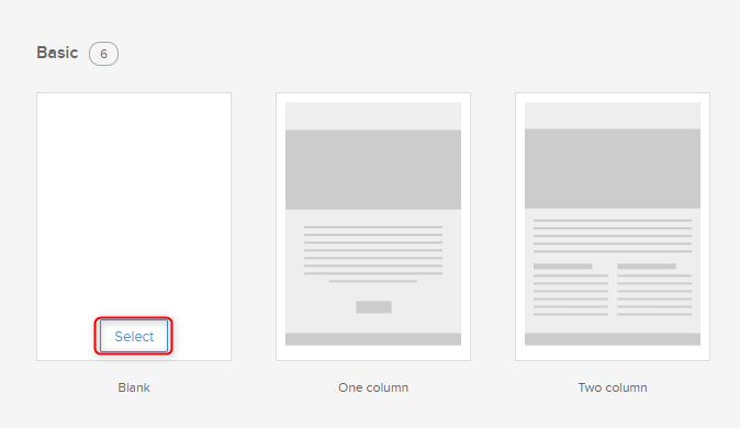 Zoho CRM Template Gallery