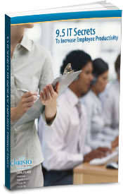 Free eBook - 9.5 IT Secrets To Increase Employee Productivity