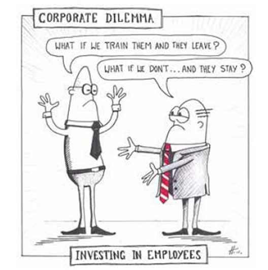 corporate dilemma cartoon