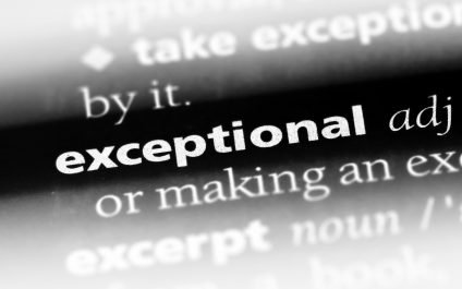 Be Exceptional, Not Average – Failure is Not an Option