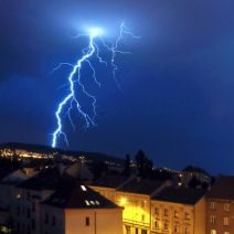 Lightning Responsible for Google's Data Loss