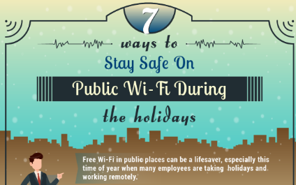 7 Ways To Stay Safe on Public Wi-Fi During The Holidays