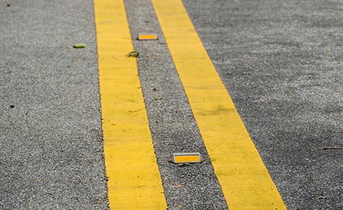recessed pavement marking liberty lake