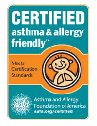 Omnisports Certified Asthma and Allergy Friendly