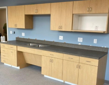 commercial casework millwork and countertops