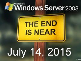 The Windows Server 2003 End of Life is Coming Soon!
