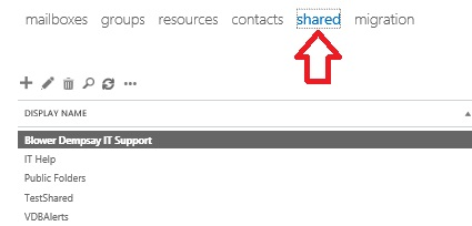 How to Convert a Regular Mailbox to a Shared Mailbox in Office 365