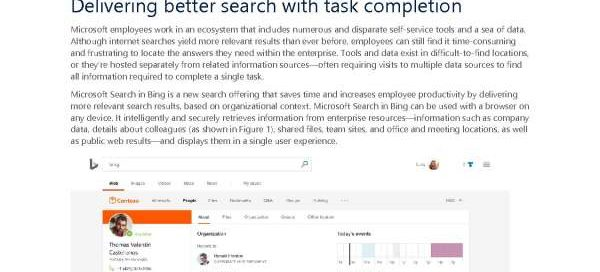 Increasing employee productivity with Microsoft Search in Bing and PowerApps