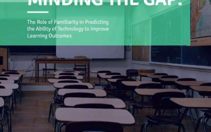 The role of familiarity in predicting the ability of technology to improve learning outcomes