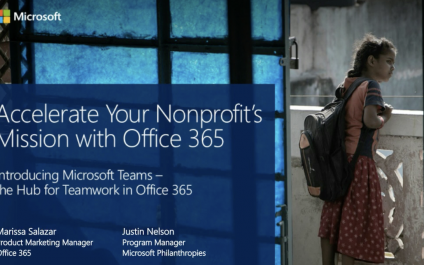 Accelerate your nonprofit's mission with Teams