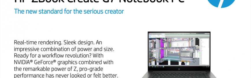 HP ZBook Create G7