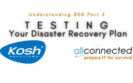 Understanding Backups & Disaster Recovery – Part 3