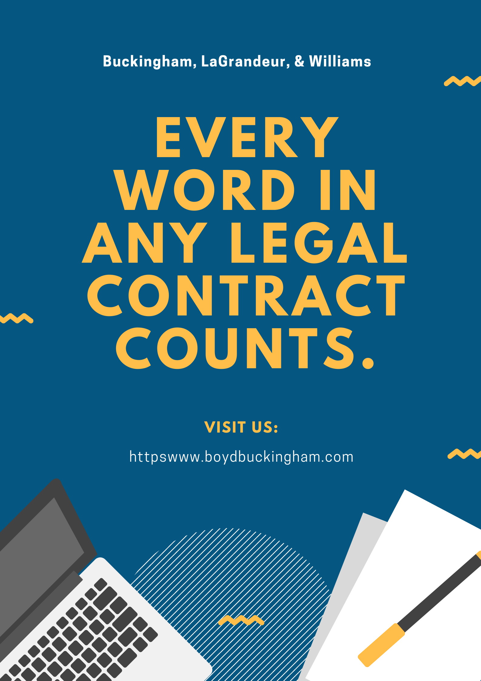 Legal infographic