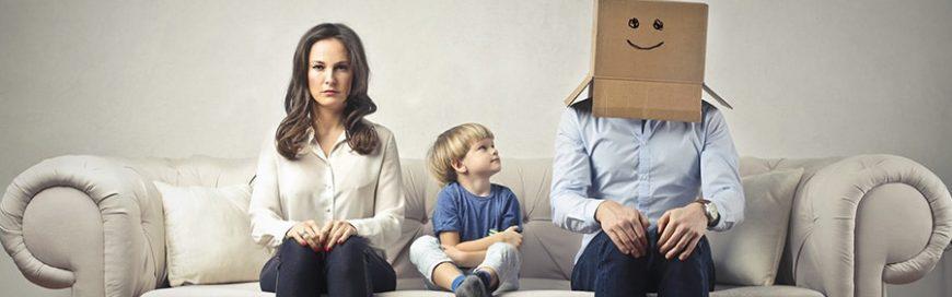 Some divorces turn ugly. These turned strange.